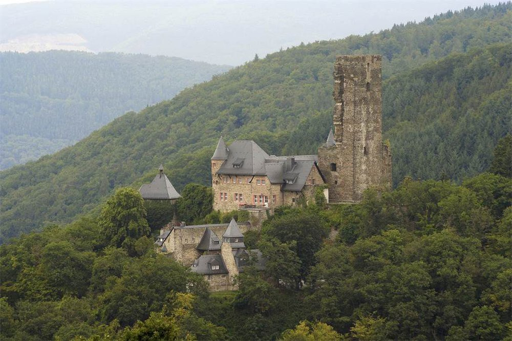 German Palatinate Castle