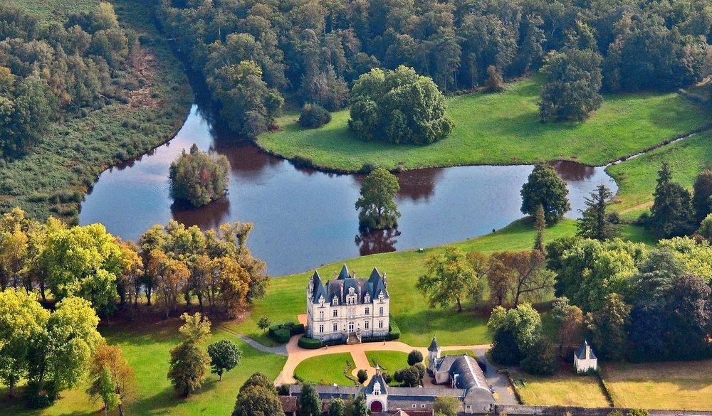 French Loire Castle