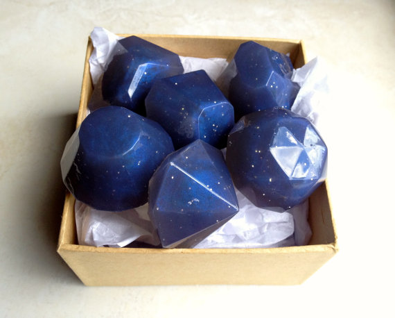 Starry Night Lavender Soap Jewels
