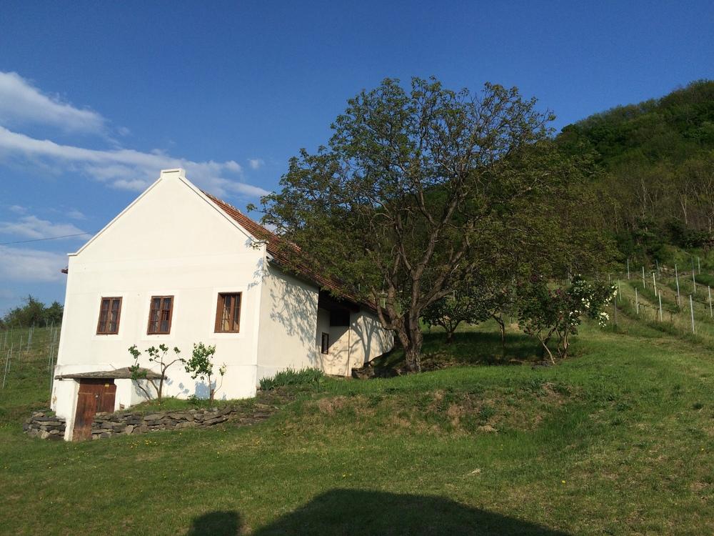 Fehér ház a Séden