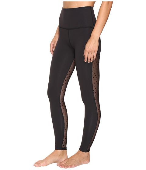 6558fda345bc4 Mesh Dot Leggings | Black | Beyond Yoga — The Well