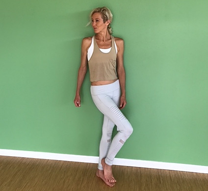 The Well's yoga inspired clothing effortlessly projects style and edge. We offer the best street to studio threads. Mix it up! Pictured: cool toned motos with warm toned tank. Feel free to contact The Well with item or style questions. Sincerely, –Megan Manzolillo