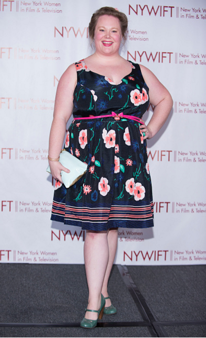 Jen at the NYWIFT Muse Awards.