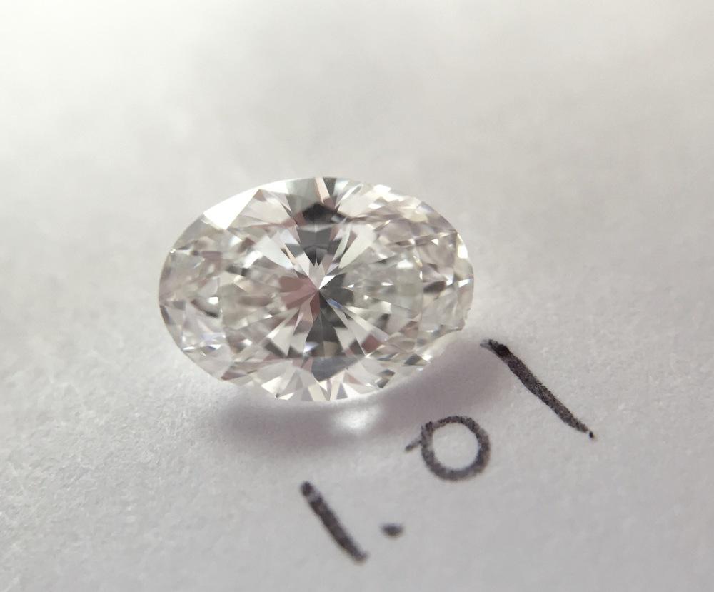 oval shape loose diamond