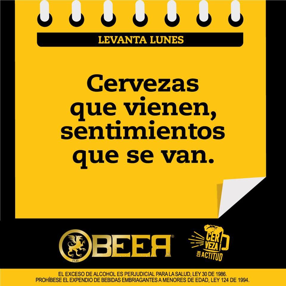 Cervezas, sentimientos