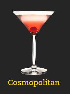 coctel beer cosmopolitan