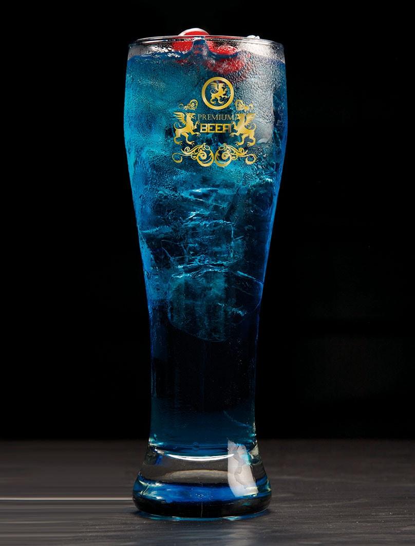 LONG ISLAND BLUE BEER