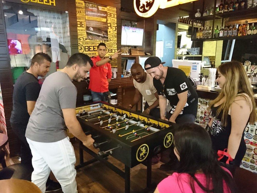 futbolito beer