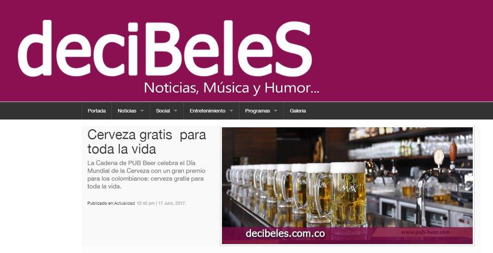 Cerveza gratis  para toda la vida