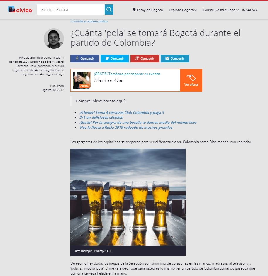 https://www.civico.com/bogota/noticias/cuanta-pola-se-tomara-bogota-durante-el-partido-de-colombia