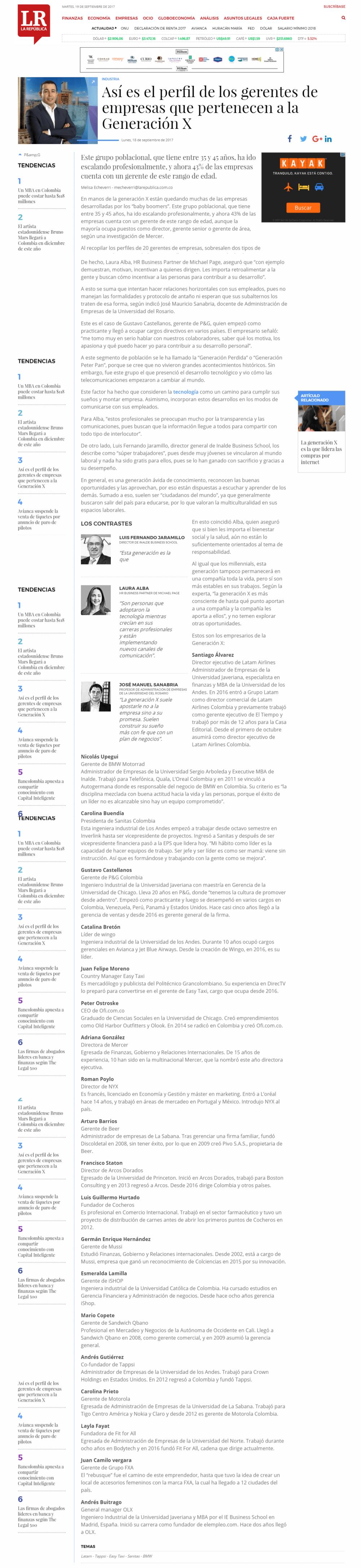 Así es el perfil de los gerentes de empresas que pertenecen a la Generación X
