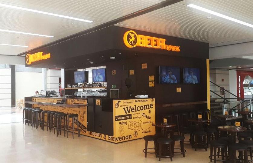 Aeropuerto jose maria salas de espera