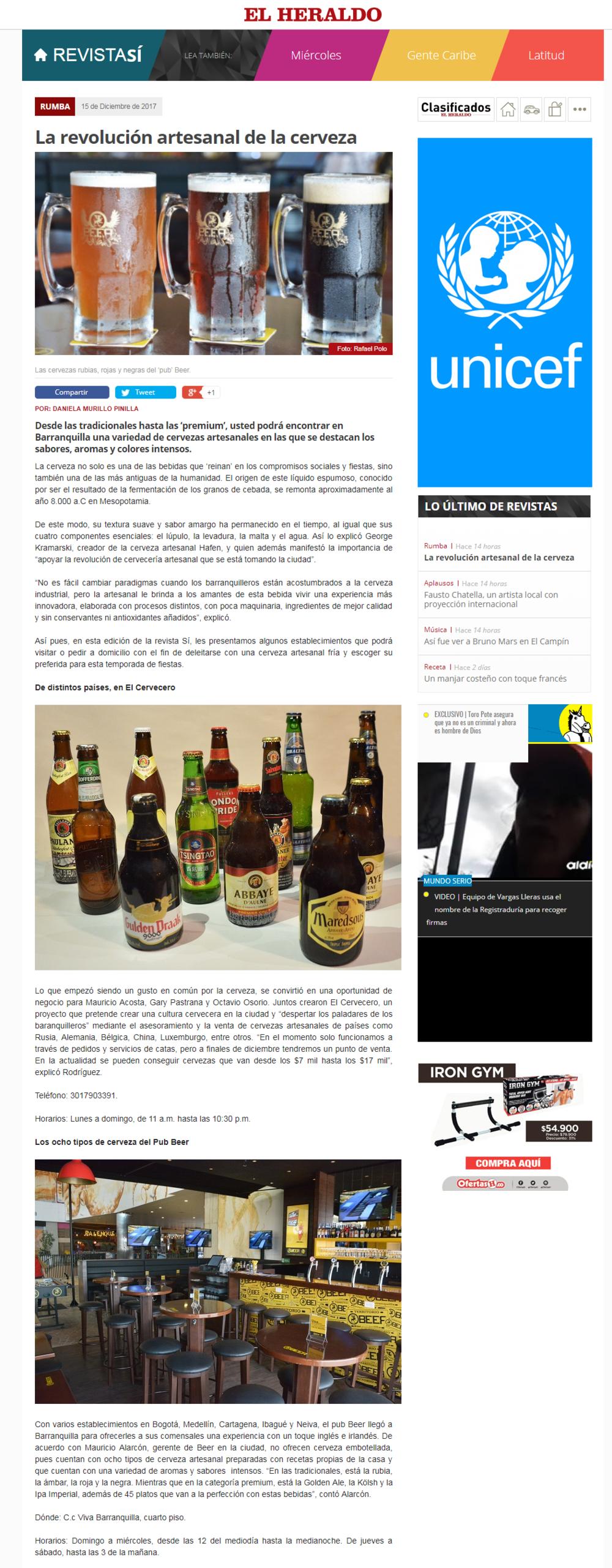 La revolución artesanal de la cerveza