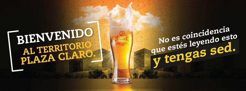 banner plaza claro beer.JPG