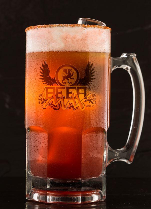 Beer Merlin - Cerveza ipa/ron zacapa 23 Solera/Smirnoff ice/lychee
