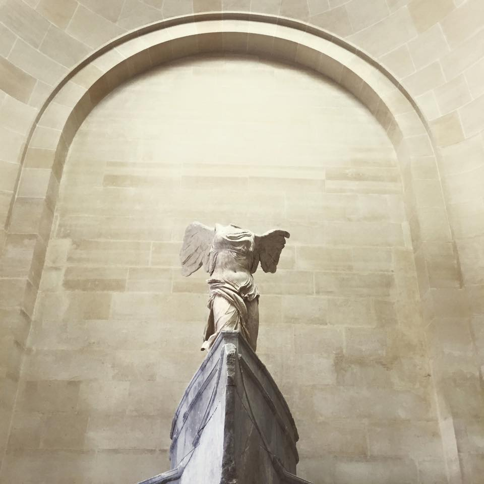 Winged Victory  Samothrace, c. 190 BC. The Louvre