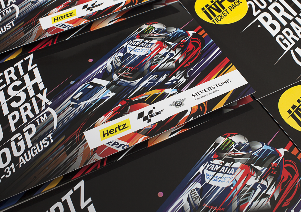Silverstone    MotoGP Event Identity and Collateral