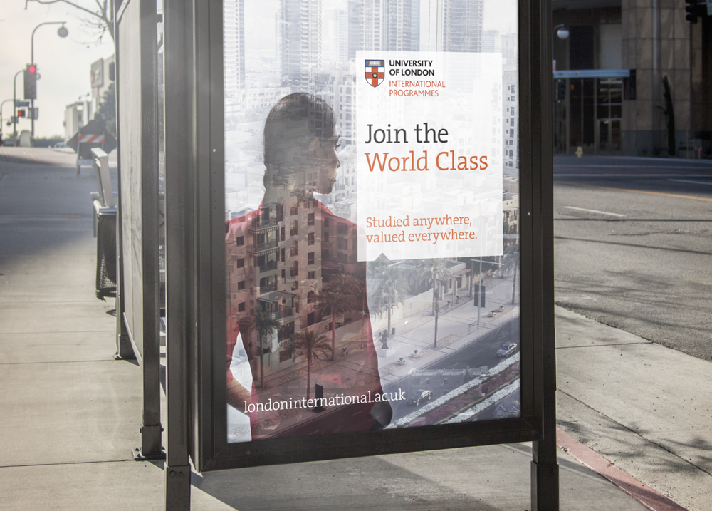 University of London 'Join the World Class'