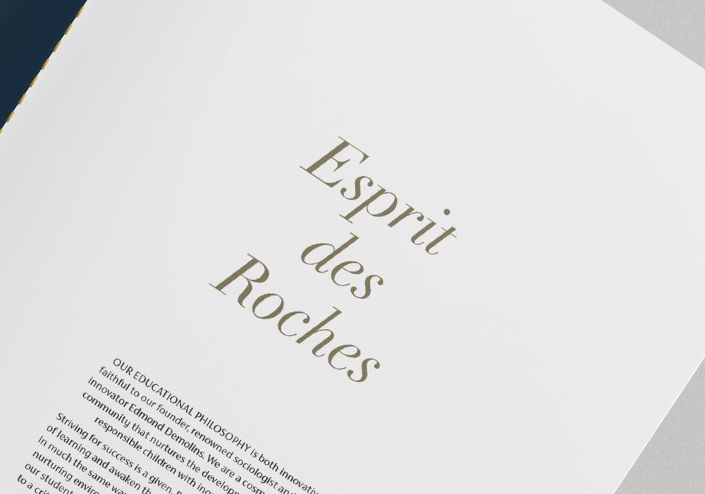 Ecoles Des Roches 'Esprit des Roches'