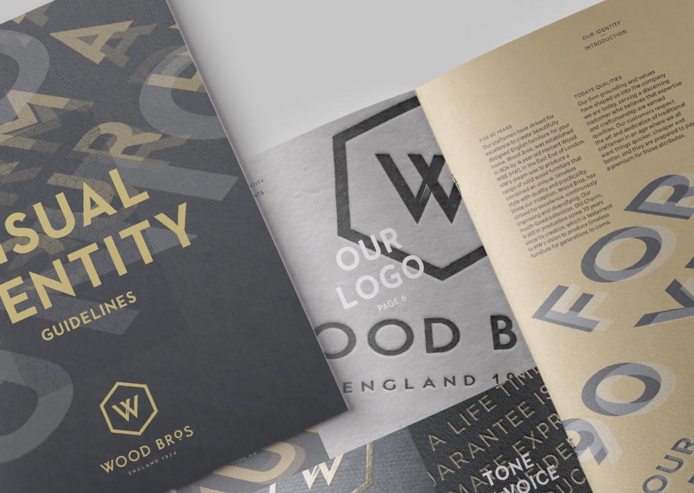 Wood Bros.    Brand Identity