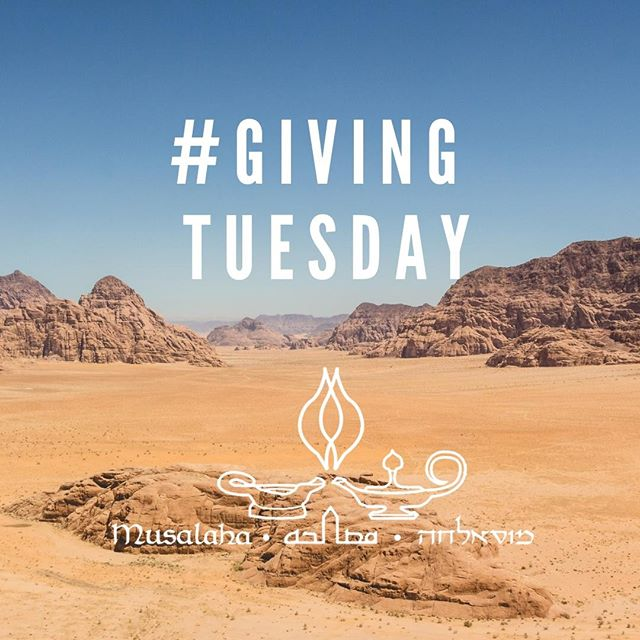 On #GivingTuesday help #Musalaha train #young people become #leaders of #reconciliation. #peacebuilding #reconcilers #Israelis #Palestinians #changemakers Donate today to our #reconciliation #leadership #training programs. http://www.musalaha.org/donations-and-pledges/