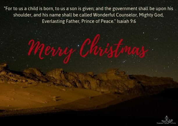 #Musalaha woud like to wish all of our friends #celebrating a #blessed #Christmas #holiday. #wonderful #counselor #princeofpeace