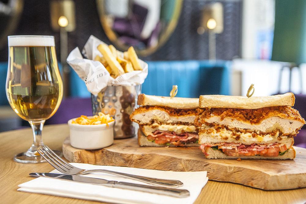 Clubhouse Deli Sandwich