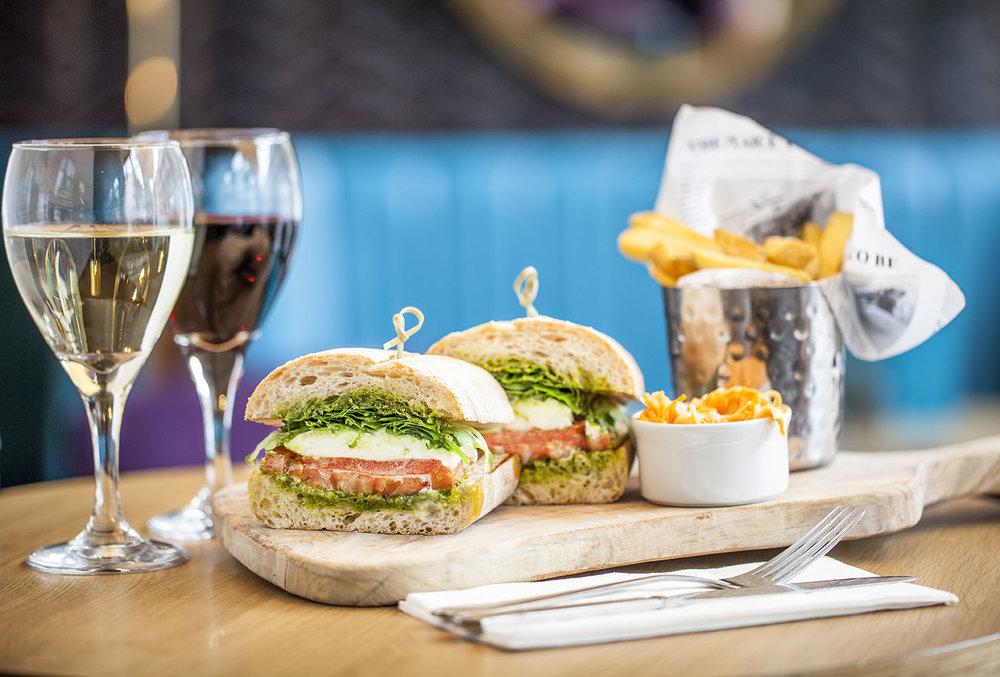 Mediterranean Deli Sandwich