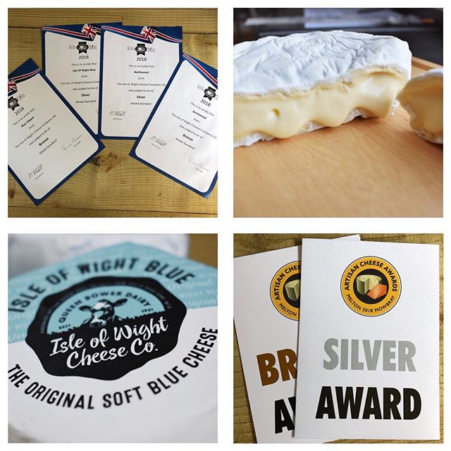 We are super-chuffed to have picked up 6 medals at last months @britcheeseaward and #artisancheeseawards We've had a massive year.. it's fair to say that taking on the farm as well as making the cheese has put our tiny team under the pump since November but things are starting to come together for us 🙂 Dedicated to @alison.gorman @indigorose91 Micky, H, Ian, Vic, Max, JD, DickieC, CC, @katiecolepiece Bob and my Mum Xx #teameffort