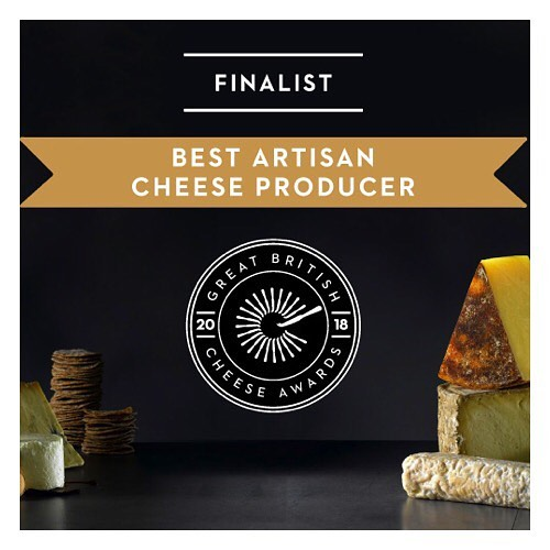 So humbled to be in the final 5 producers for this category too 🙂🙏 @fenfarmdairy @teesdale_cheesemakers #riveramblecreamery #tenacrescheese @gbchefs #greatbritishcheeseawards