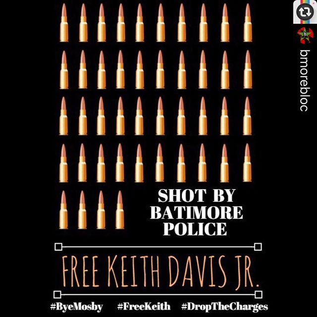 #Reposting @bmorebloc -- Keith Davis Jr. Was shot by Baltimore Police 44 times. This is what 44 bullets look like. Imagine 44 bullets coming your way . #44Bullets #FreeKeithFridays #FreeKeith #KeithDavisJr #FreeKeithDavisJr #ByeMosby