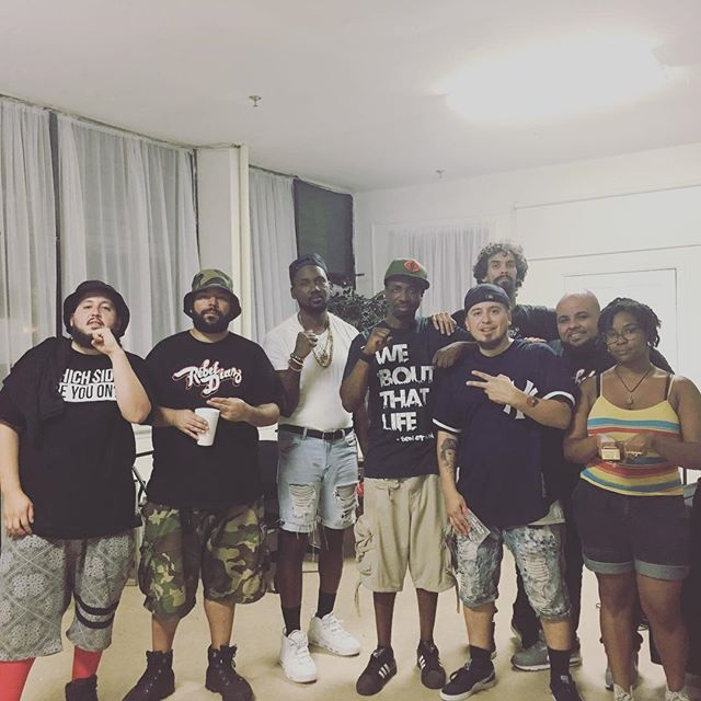 Much love to #theungovernables fam, the tour was lit! Can't wait to build again. @tef_poe @rebeldiaz @djillanoiz @djkaykay47