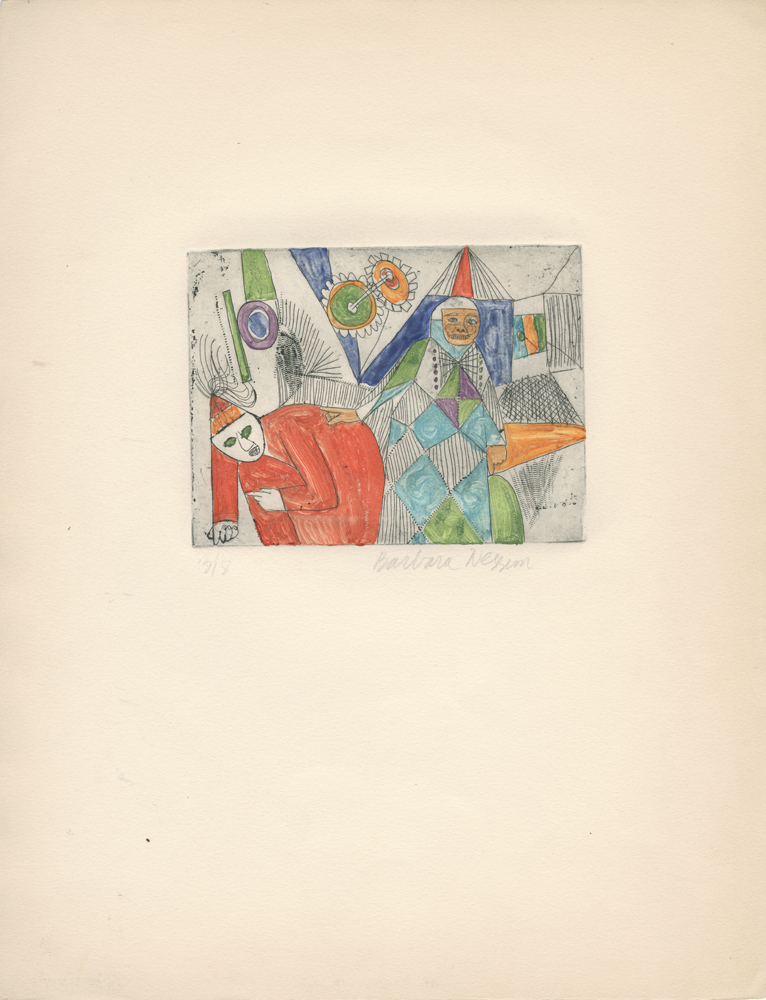 <i>Red Clown</i>, 1960