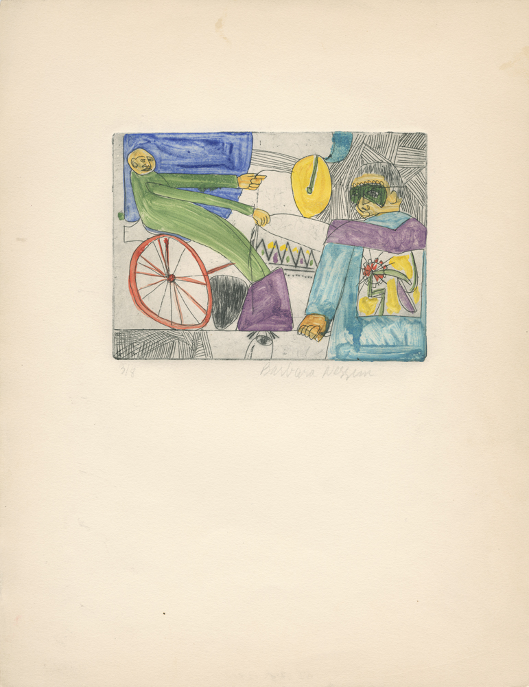 <i>Man on bike</i>, 1960