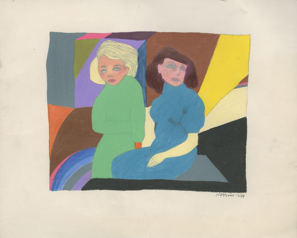 <i>Blonde & Brown / Green & Blue</i>, 1964