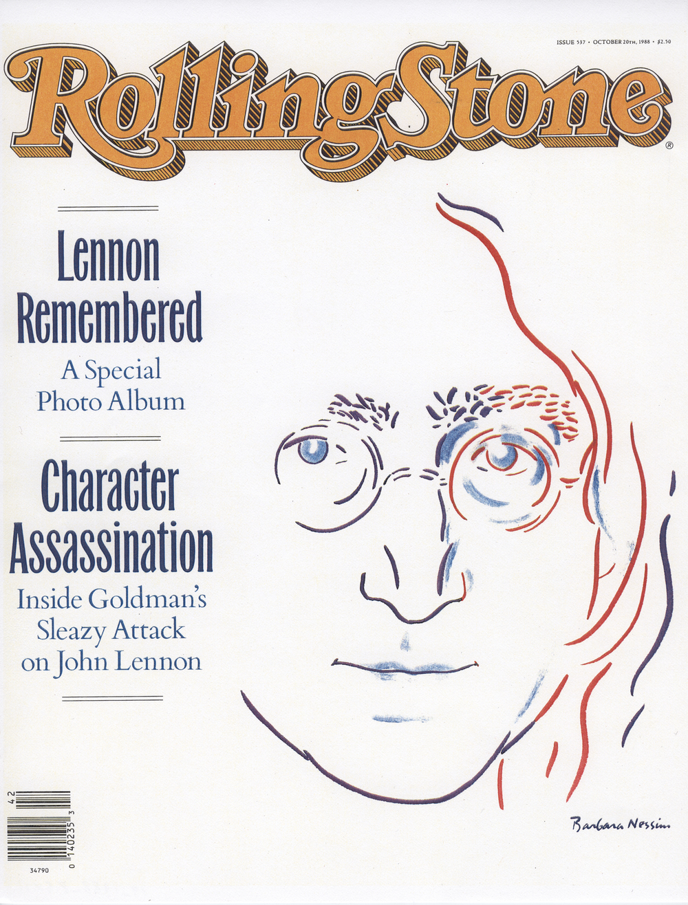 <I>Lennon Remembered</I>, 1988