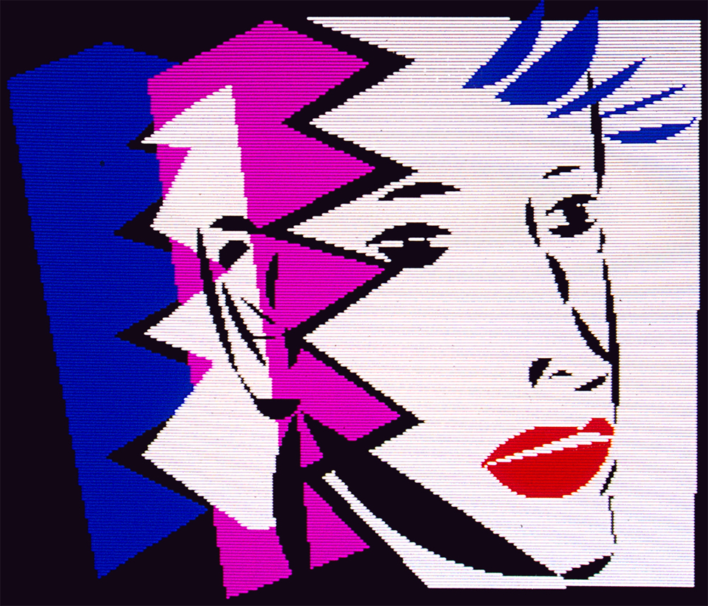 Pink, White and Blue, 1982-1984
