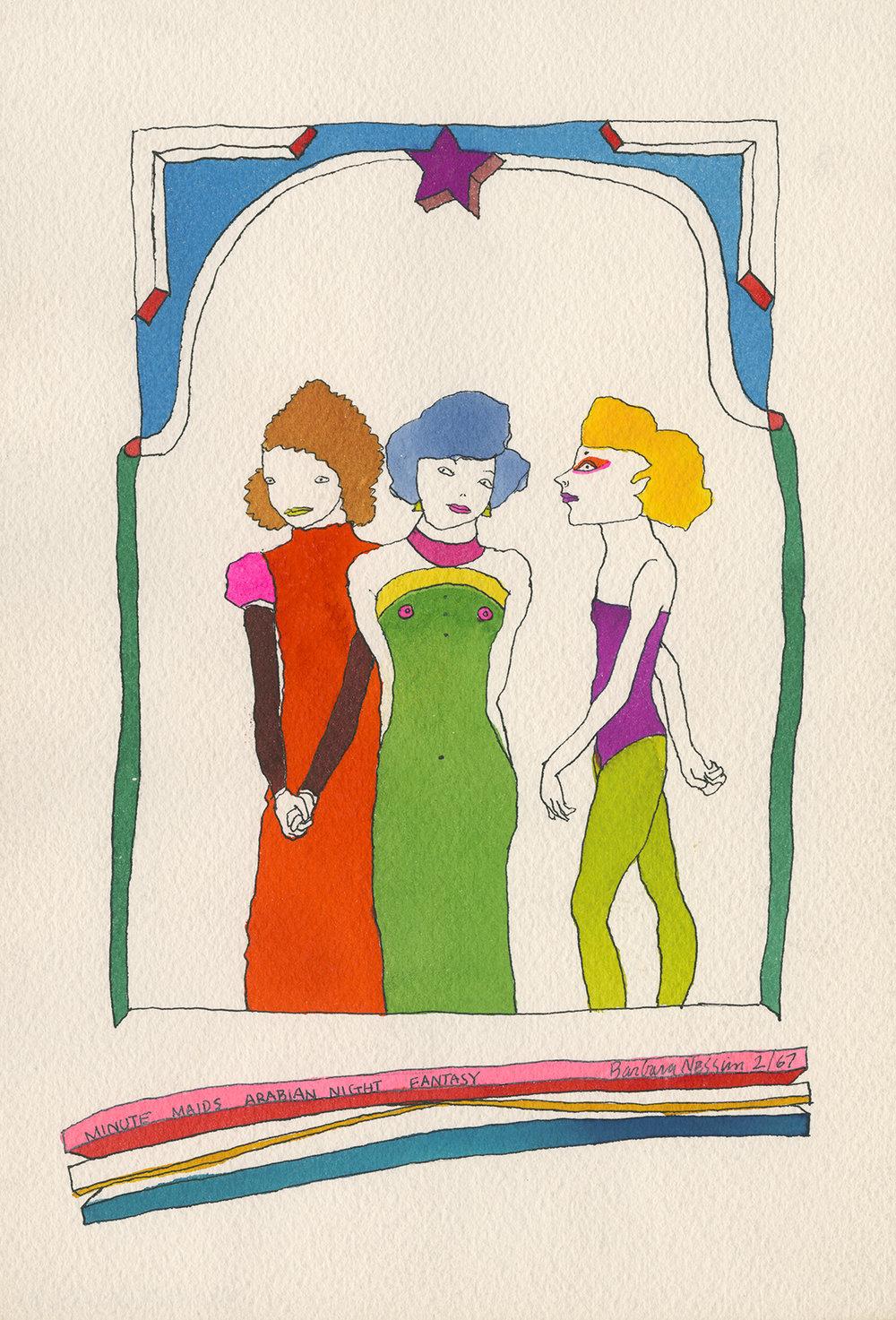 <I>Minute Maids Arabian Night Fantasy</I>, 1967