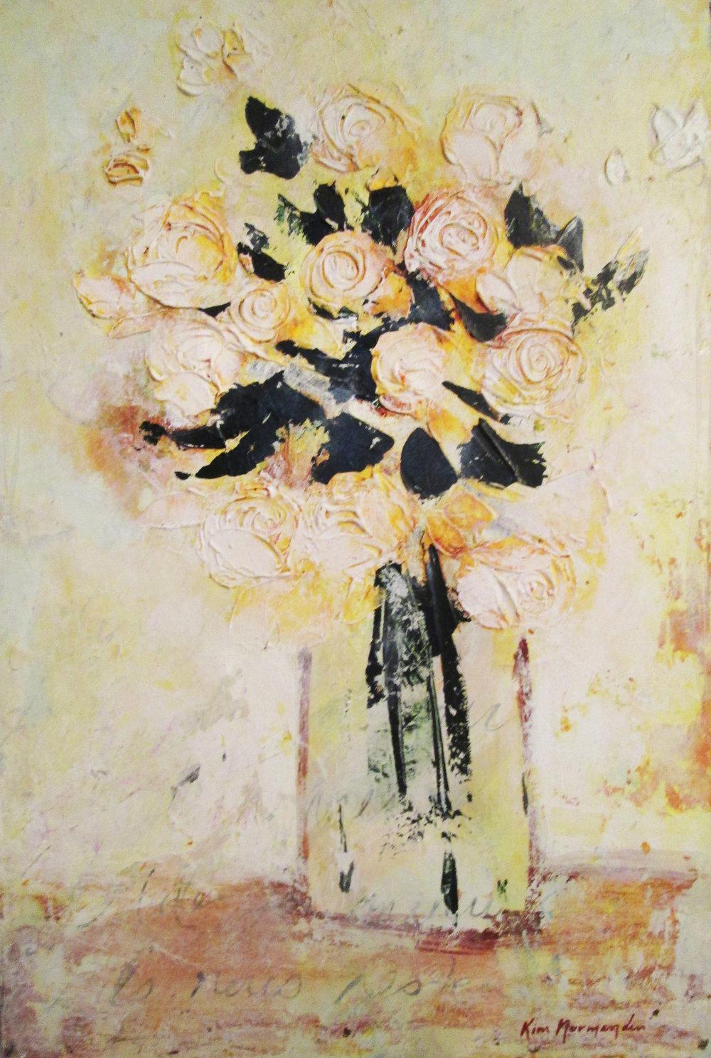 Bouquet zen  (16x24po) 478$
