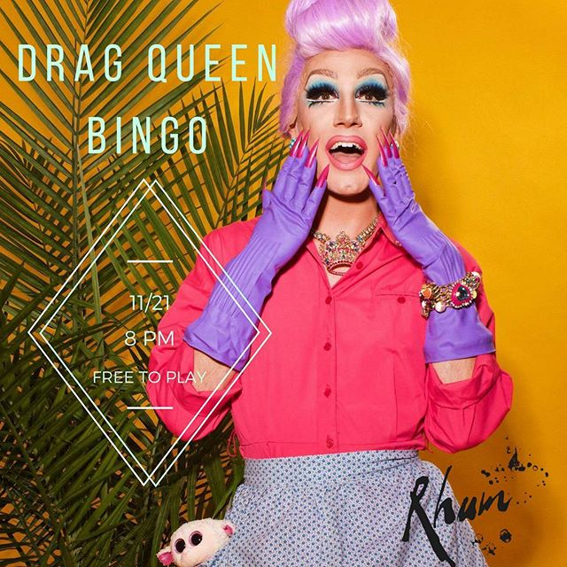 Drag Queen BINGO is ON today! And it's StepMom's last Bingo so come see your 👑. BINGO with @step_mother and bring the rest of the #fam
