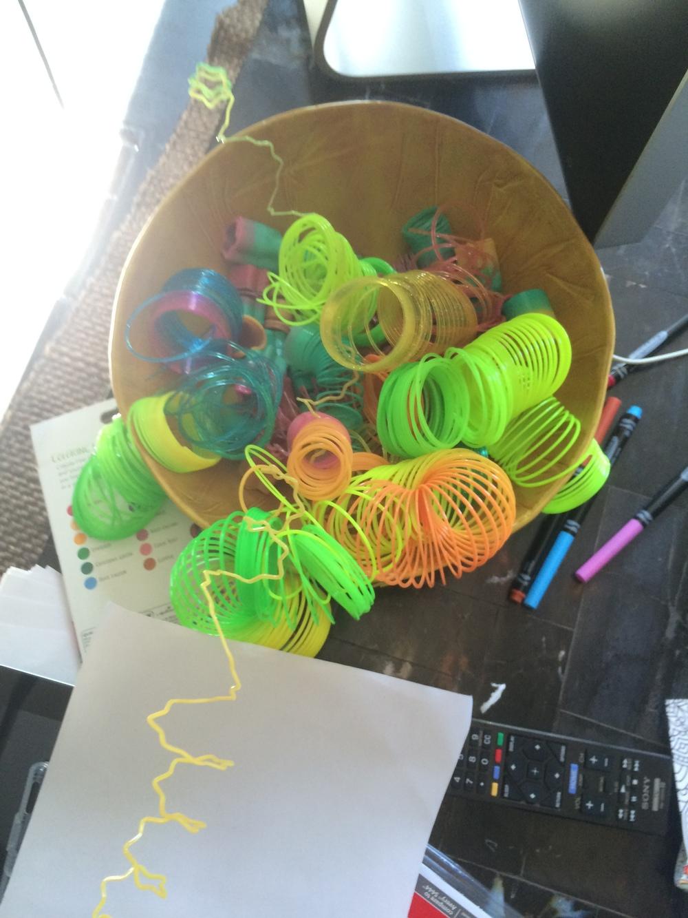 Spent Slinkies