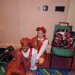 "JAZMYN AND KAITLYN – Our two special dancers chosen to be one of the 20 featured ""Maypole"" dancers. Way to go girls!"