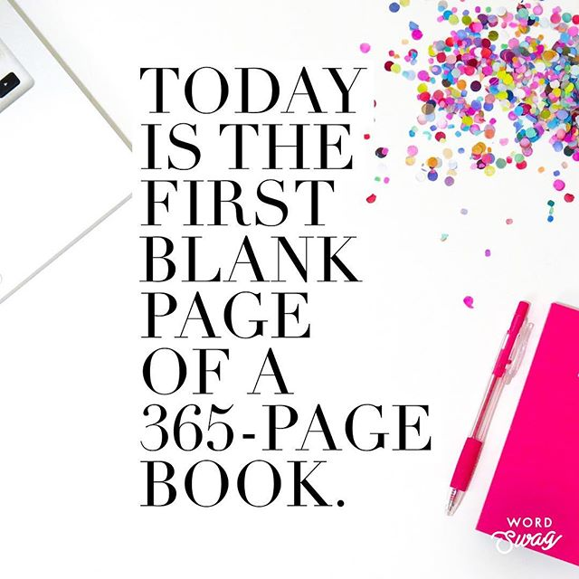 What will you write?  Like any good story it may need time to build.  What if this year we started 2019 with ease versus punishing ourselves for overindulging this holiday?  What if you loved YOU and took small steps to remember who you are?  What is the first page of your 2019 book going to look like?  #newyearresolution