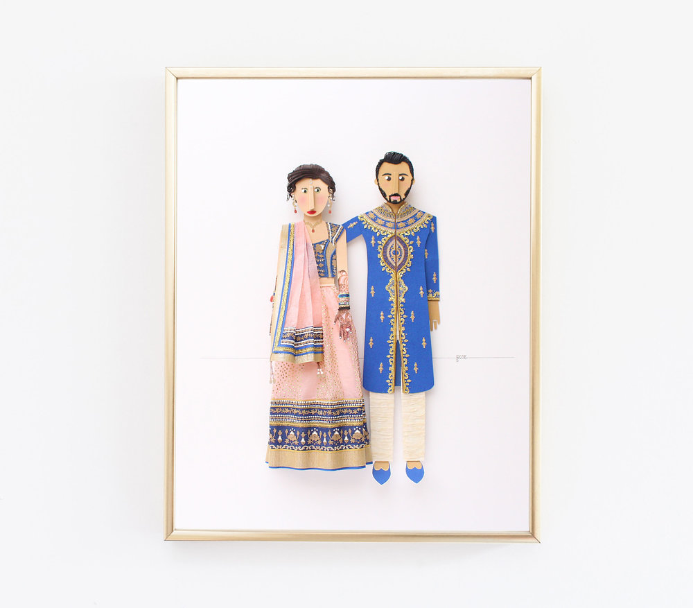 Indian Wedding Paper Portrait.jpg