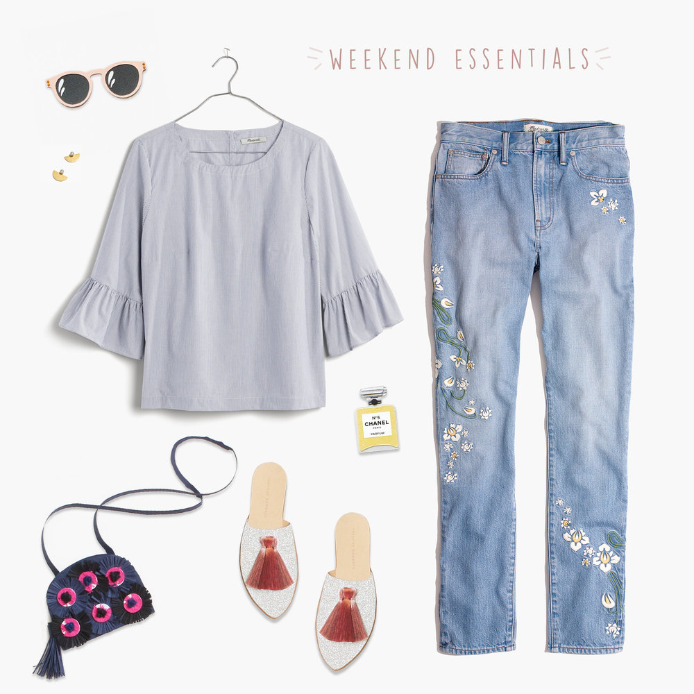 comfortable weekend picks by Brittani Rose