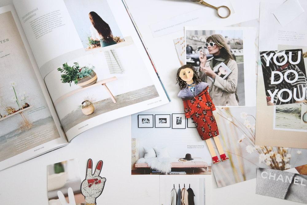Mood Board Inspiration Brittani Rose Paper
