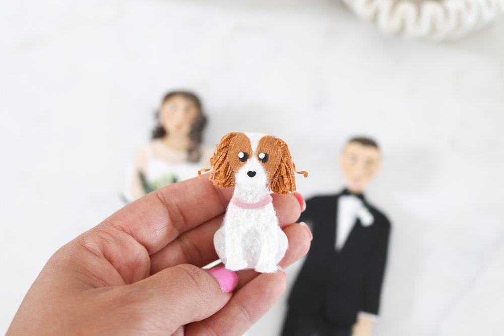 Custom Pet Portrait by Artist Brittani Rose
