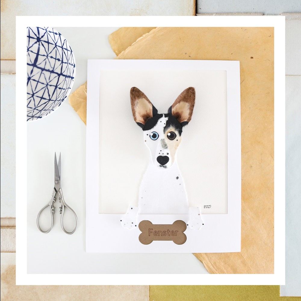 Custom Pet Portrait - Share some brief information about this product. One to two sentences is perfect.