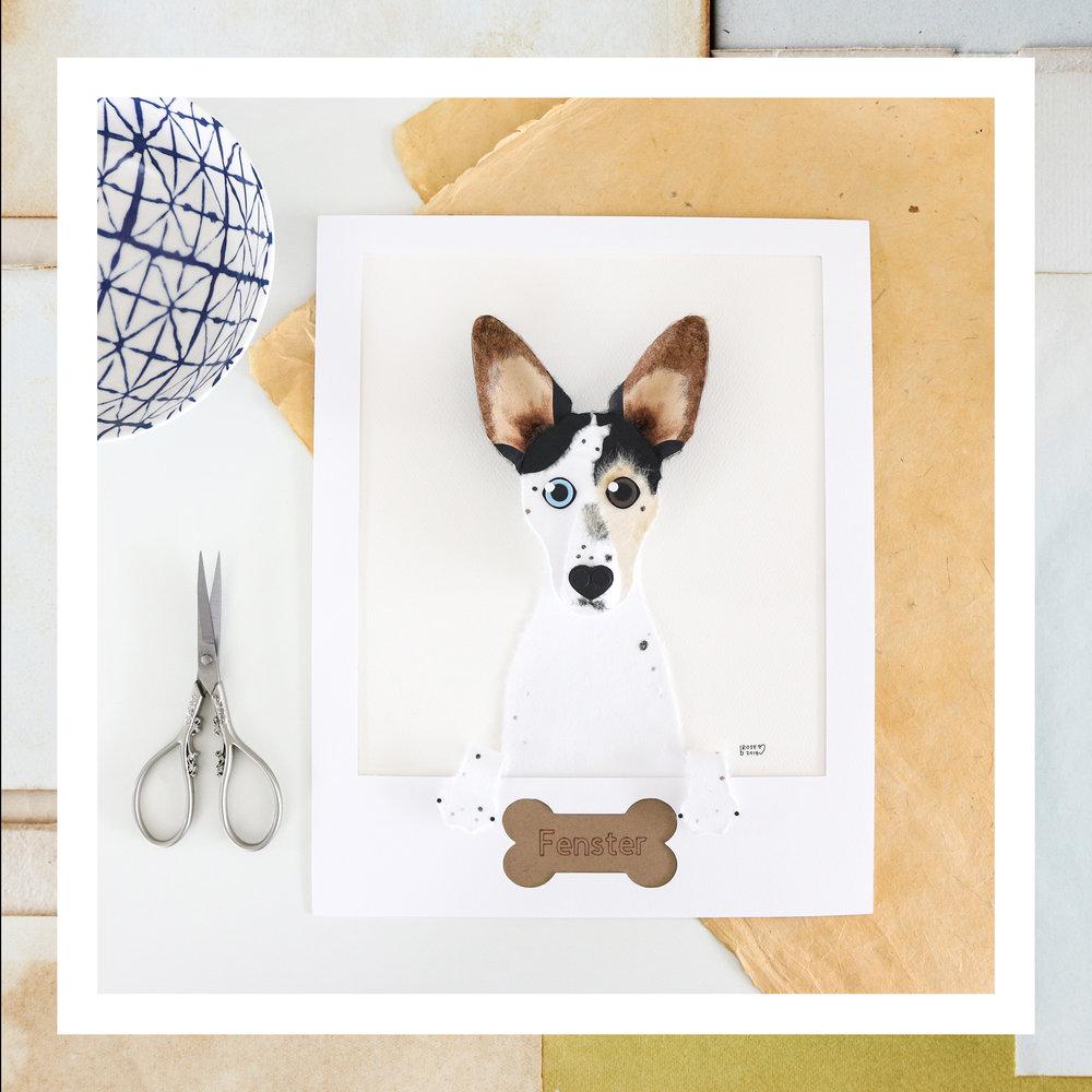 Custom Pet Artwork - write something here