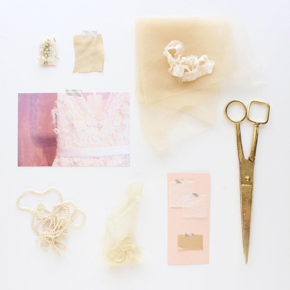 Custom wedding designs by Brittani Rose